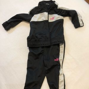 EUC authentic Puma tracksuit for 6 to 9 month old